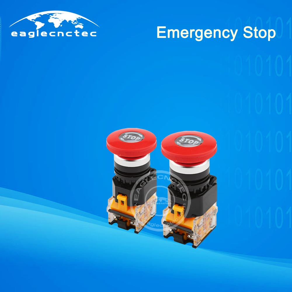 Emergency Stop E-stop Button Kill Switch for CNC Router Machine
