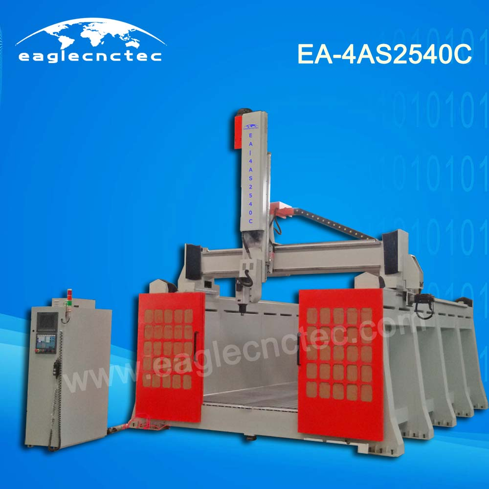 4 Axis CNC Gantry Milling Machine for Mould Pattern Job