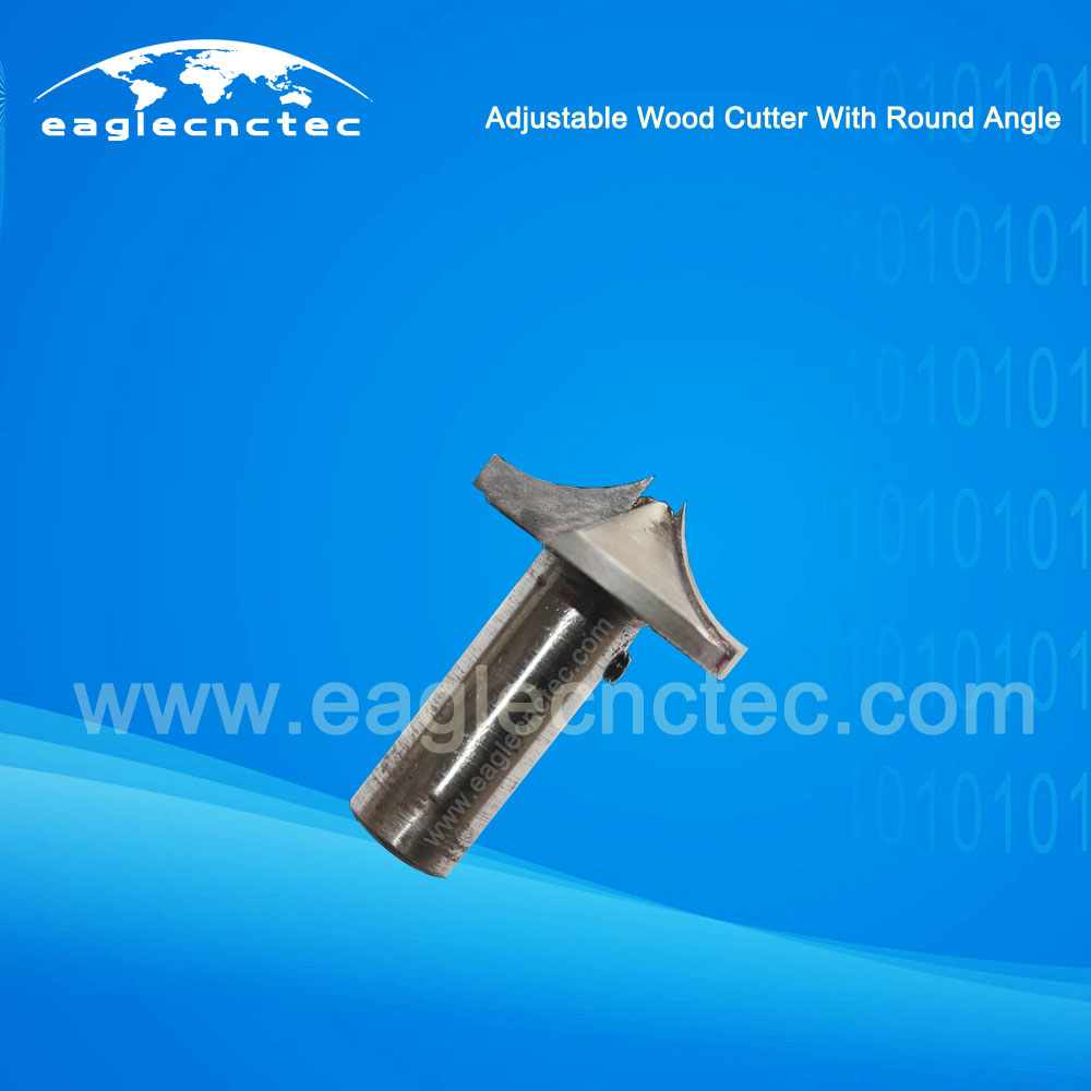 Adjustable Wood Cutter with Round Angle