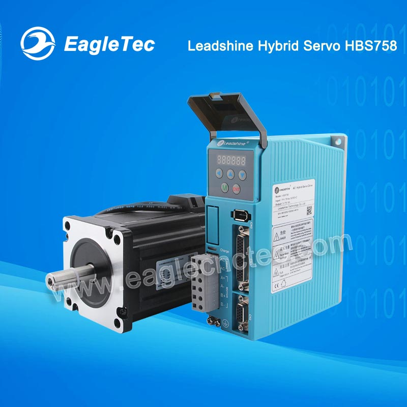 Leadshine Easy Servo Kit HBS758 CNC Router Driver and Motor
