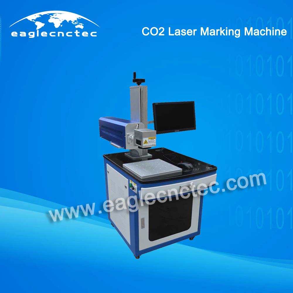 Small Laser Marking Machine with CO2 RF Tube 10W