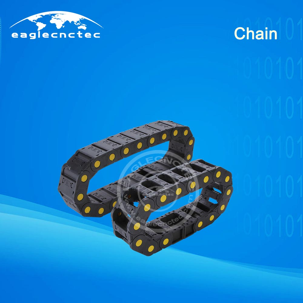 Cable Carrier Chain CNC Router Drag Chain 25x57 25/35/45 Series