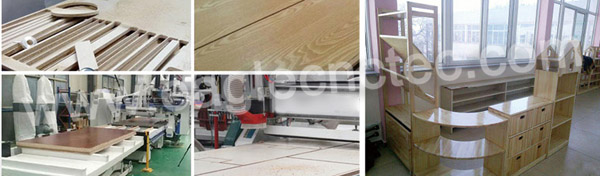 cnc wood cutter with auto feeding