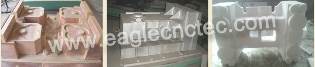 mould lost foam eagletec cnc router