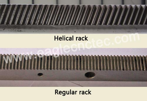 helical and regular rack