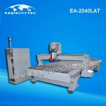 Linear ATC CNC Router EA2040 with 9KW HSD Automatic Tool Change Spindle 2000x4000mm