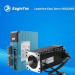 CNC Router Easy Servo Leadshine HBS2206 Driver and 863HBM Motor