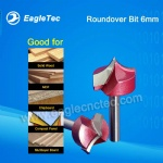 Roundover Router Bit 6x25mm For Solid Wood / MDF / Chipboard