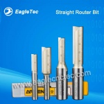 Straight Router Bit for Slotting and Cutting on Wood Foam MDF Multilayer Board
