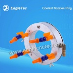 Flexible Coolant Nozzles Ring for CNC Router Good For Aluminum Milling