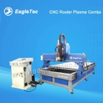 CNC Router Plasma Combo Machine for Wood And Metal Cutting (2 in 1)