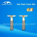 12.7mm Shank Tungsten Steel Router Bits Cutter for Slatwall Slotwall Slat Board
